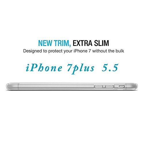 """First2savvv iPhone 7 4.7. iPhone 8 4.7 """" Stoßdämpfende Hülle Case Schutzhülle Silikon Case Durchsichtig iphone 7 -XJPJ-I7-4.7-C02 grau Hülle -5.5"""