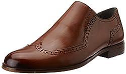 Ruosh Mens Tan Leather Formal Shoes - 8 UK/India (42 EU)