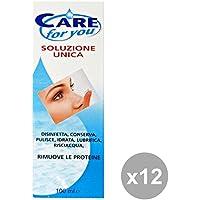 Set 12 CARE FOR YOU Soluzione Unica Lenti A Contatto 100 Ml. Desinfektionsmitteln preisvergleich bei billige-tabletten.eu