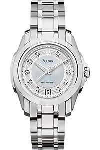 Bulova Ladies Longwood Diamond Watch 96P115