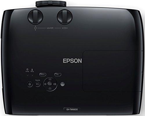 Bild 18: Epson EH-TW6100 3D Heimkino 3LCD-Projektor (Full HD 1080p, 2.300 Lumen Weiß & Farbhelligkeit, 40.000:1 Kontrast, 2x HDMI (1x MHL), inkl. 1x 3D Brille) schwarz