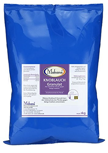 Makana Knoblauchgranulat, speisequalität, 1000 g Beutel (1 x 1 kg)