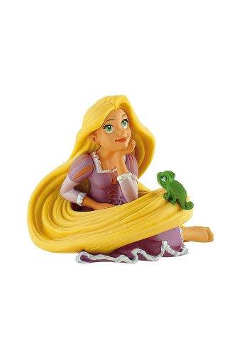 Bullyland 12419 - Spielfigur, Walt Disney Rapunzel mit Pascal, ca. 6,5 cm