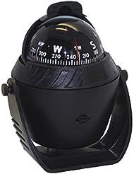 WINOMO Boussole Compass LED Flottant Magnétique Navigation pour Voiture Auto Marine (noir)