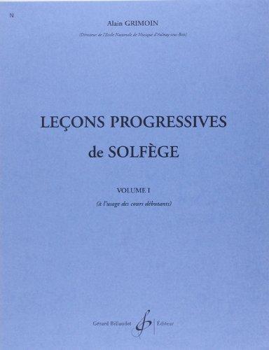 30 Lecons Progressives de Solfege Volume 1