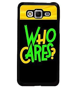 Printvisa 2D Printed Quotes Designer back case cover for Samsung Galaxy Grand Prime SM - G530H - D4343