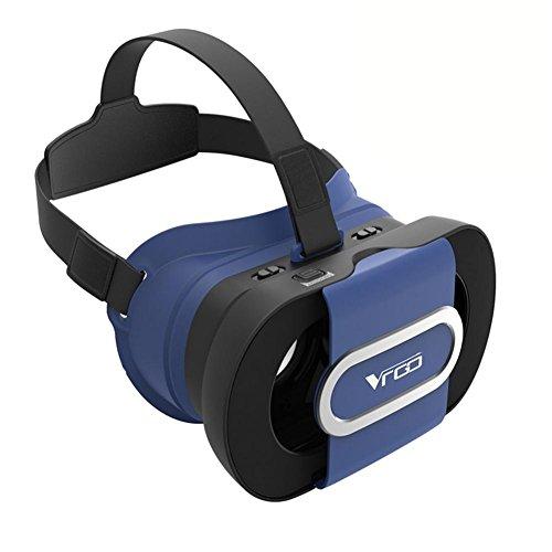 HUYAN1 VR Headset 3D Brille Einstellbare Virtual Reality Headset für iPhone 6 7 Plus Samsung...
