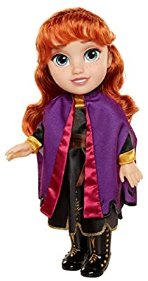 Frozen 2 Anna Frozen II Muñeca, Toddler, Color Set (Jakks Pacific 202821) de Jakks