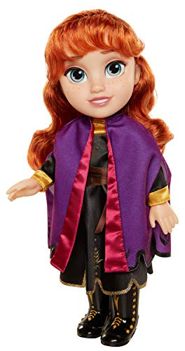 Frozen 2 Anna Frozen II Muñeca, Toddler, Color Set (Jakks Pacific 202821)