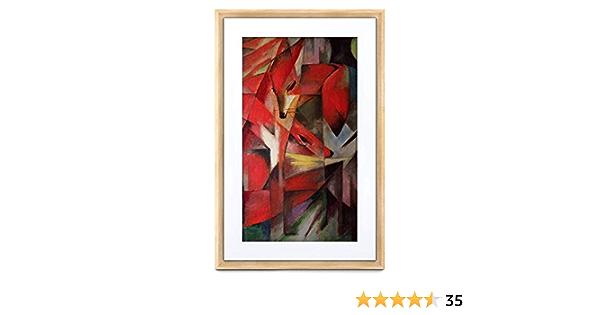 Meural Canvas Ii The Smart Art Rahmen Mit 53 8 Cm Kamera