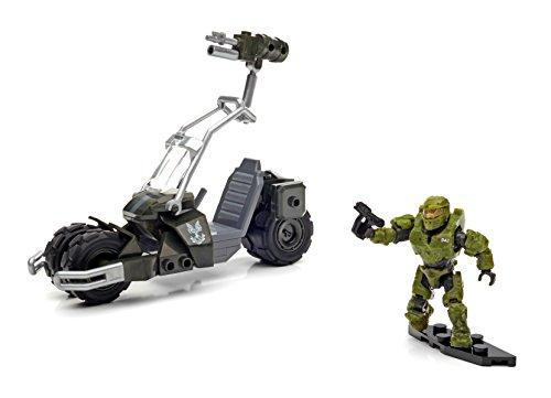 Mattel Mega Bloks DPJ90 - Halo UNSC Jackrabbit Blitz, Baukaesten