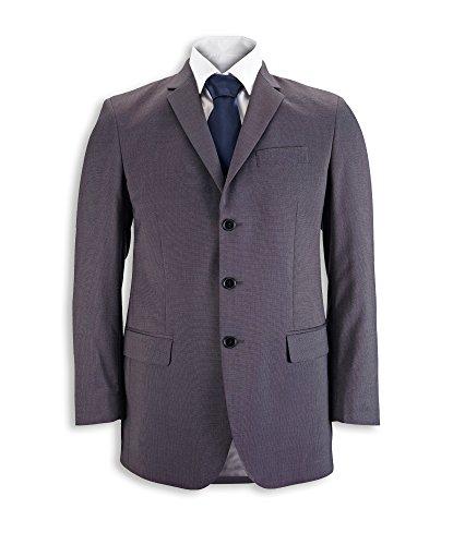 Alexandra Herren Jacke Icona Classic Fit Jacke, uni, Regular, 77% Polyester/21% Viskose/2% Elasthan, Größe 38, Anthrazit STC-NM2CH-38R -