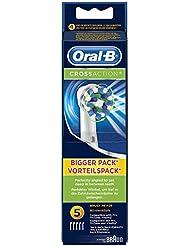 Braun Oral-B CrossAction Aufsteckbürsten, 5 Stück