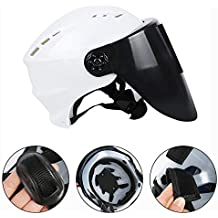 Pawaca 2 en 1 Mascaras de Soldar Automática/Casco de Seguridad Trabajo,Careta Soldadura