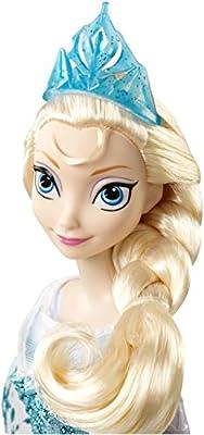 Disney - Frozen: El Reino del Nielo - Elsa - Muñeca fashion Cantando Inglés por Mattel