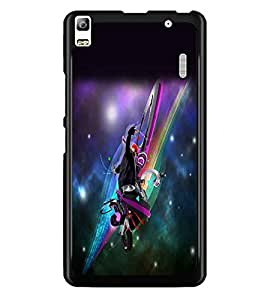 PrintDhaba Dancing Boy D-2242 Back Case Cover for LENOVO A7000 TURBO (Multi-Coloured)