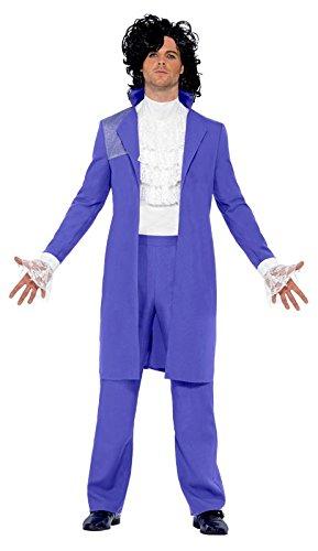 Rock Pop 80er Kostüm Amadeus Prince Anzug Herren Gr (80er Rock Jahre Pop Kostüme)