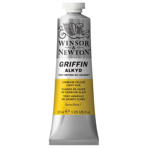 winsor-newton-griffin-37ml-alkyd-fast-drying-oil-colour-tube-cadmium-yellow-light-hue