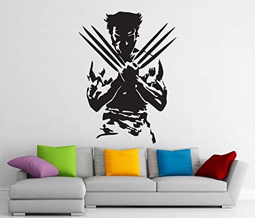 abnehmbare aufkleber vinyl aufkleber home interior art dekoration junge zimmer mode dekoration 57 * 77 cm ()