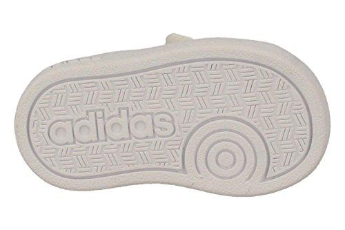 adidas Vs Advantage Clean Cmf Inf, Baskets Basses Mixte Bébé, Blanc, 21 EU Blanc (Ftwbla / Ftwbla / Griuno)