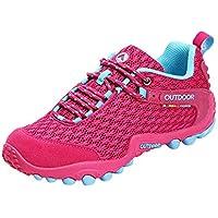 Zapatos Deportes con correa para mujer,Sonnena Señora Senderismo Zapatos antideslizantes para caminar Zapatos de viaje de ocio al aire libre Calzado Off-Road