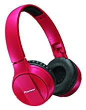 Pioneer SE-MJ553BT Cuffie Bluetooth, Rosso