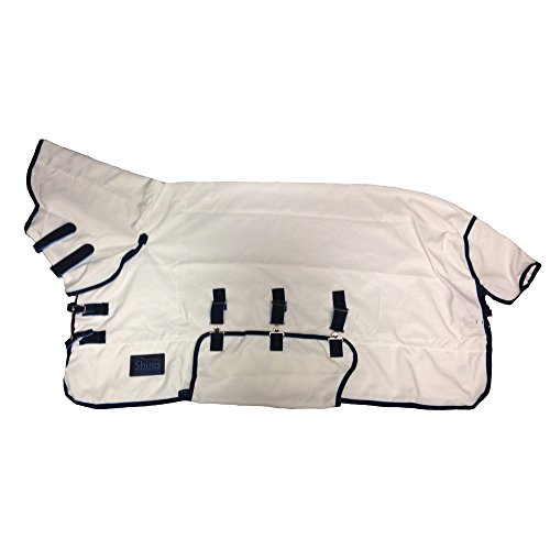 Shires Tempest Sweet-Itch Combo Fly Rug 155cm White (White Combo)
