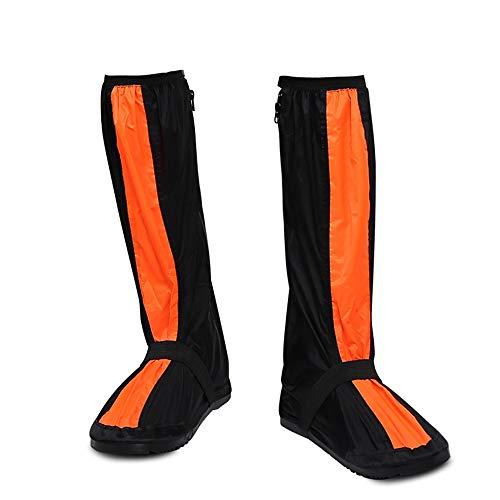 ZIXERN Stivali Scarpe da Alpinismo per Adulti all'aperto da Arrampicata su Neve Scarpe da Alta impermeabilità con Tubo a Prova di Pioggia Fondo Spesso Resistente all'Usura Stivali da Pioggia da Uomo