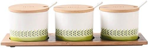 WXHScatola di condimento Vaso per per per condimenti in Ceramica Semplice per Uso Domestico 68e3c1