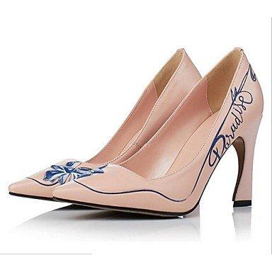 Moda Donna Sandali Sexy donna tacchi Primavera / Estate / Autunno tacchi esterno in pelle Stiletto Heel altri nero / rosa / Bianco Altri Black