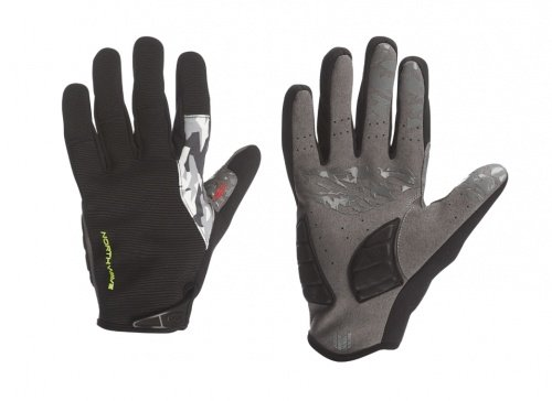 Guanti Invernali MTB Northwave Enduro Winter Gloves Taglia M (Nero/GialloFluo, Medium)