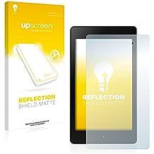 upscreen Reflection Shield Protector Pantalla Mate Asus Nexus 7 Tablet 2 (2013) Película – Antireflejos, Anti-Huellas