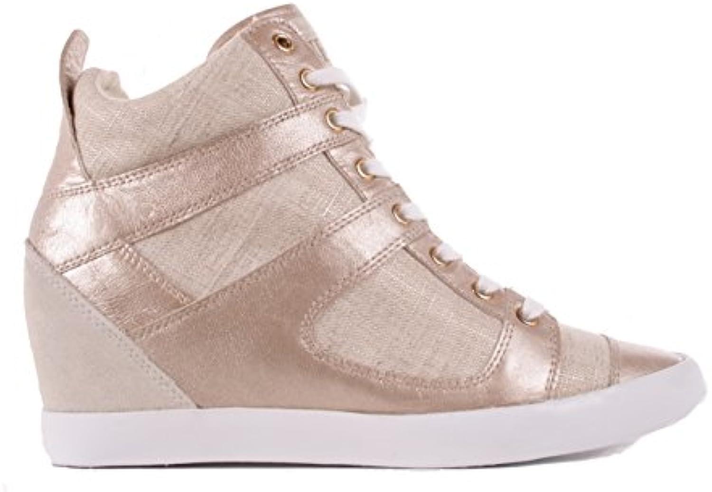 Guess Damen Sneaker Wedge 2018 Letztes Modell  Mode Schuhe Billig Online-Verkauf