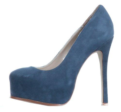 Pumps Plateau Janiko Coco heels Blue High qTwEt4