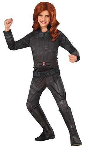 Disfraz de Viuda Negra Capitán América Civil War deluxe para niña