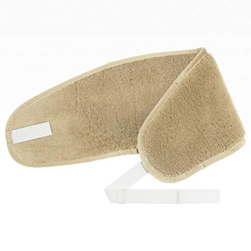 Fascia Lombare cammello Soft (con elastico) scaldaschiena 100{d7d8b8ce684d77d232fb1bb71bc01fab482bda8c232aad3211793b8bd0ec31c2} lana merino Back Kidney Warmer cintura riscaldabile cintura renale