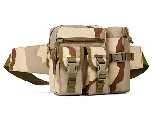 Protector Plus Männer und Frauen Kessel Taschen Outdoor kleine Reitkessel Tasche Reise Reise Taschen Freizeit kleine Brust Tasche three camouflage