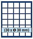 Safe 6830 Nova Element Exquisite Holz-Münzbox für 30 Münzen mit 30 mm Durchmesser