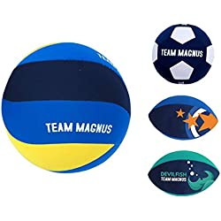 Ballon beach volley, football plage, rugby plage - revêtu en 1mm néoprène