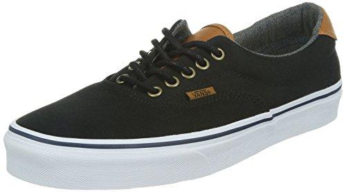 Vans U Era 59, Baskets mode mixte adulte Noir (Black/Washed)