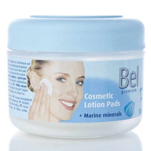 5 Stück Lotion (5Pack Bel Cosmetic Lotion Pads mit Marine Minerals 5x 30 Stück)