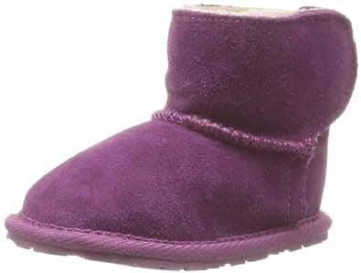 Emu Toddle B10737, Unisex-Baby Krabbelschuhe, Violett (Purple), EU XL (18-24 Monaten)