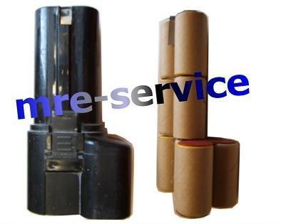 Akkupack passend für AEG ABS13, AEG-P9,6,ABSE13 P9 9,6V 2,0 Ah Nicd zum Selbsteinbau