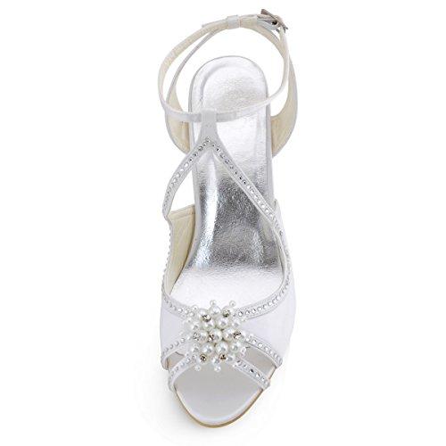 Elegantpark, Cinturino a T donna Bianco (bianco)