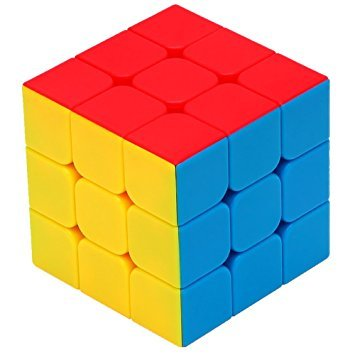MysticPlay 3X3X3 High Speed Rubik Stickerless Puzzle Cube (Speed Cube) Multicolor