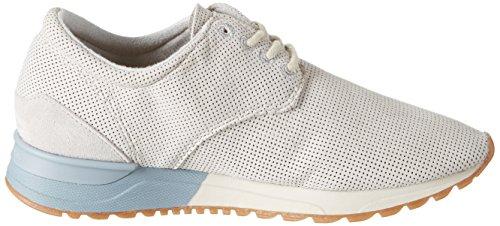 Marc O'Polo 70113893501200 Sneaker, Sneaker Basse Donna Grigio (Stone)