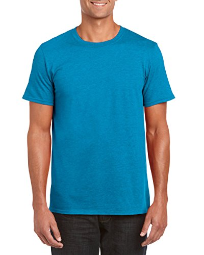 Gildan 64000 Mens Short Sleeve Softstyle T-Shirt Tee Antique Sapphire