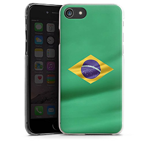 Apple iPhone X Silikon Hülle Case Schutzhülle Brasilien Flagge Brasil Hard Case transparent