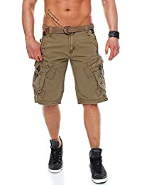 Geographical Norway bermuda shorts Perle Men