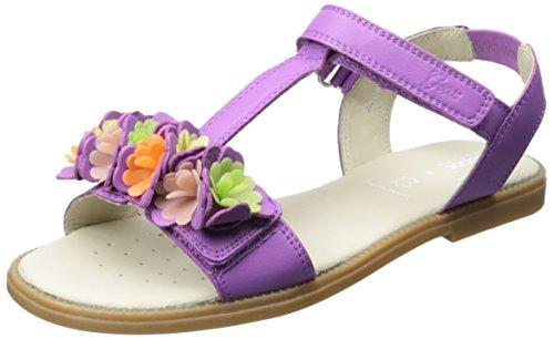 Geox J S Karly G B, Mädchen Sandalen, Violet (Purple), 39